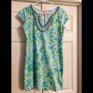 Lilly Pulitzer Any Fins Possible Harper Dress